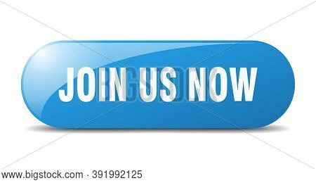 Join Us Now Button. Join Us Now Sign. Key. Push Button.