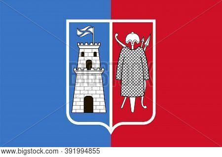 Flag Of Rostov-on-don In Rostov Oblast Of Russia