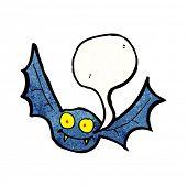 vampire bat cartoon poster