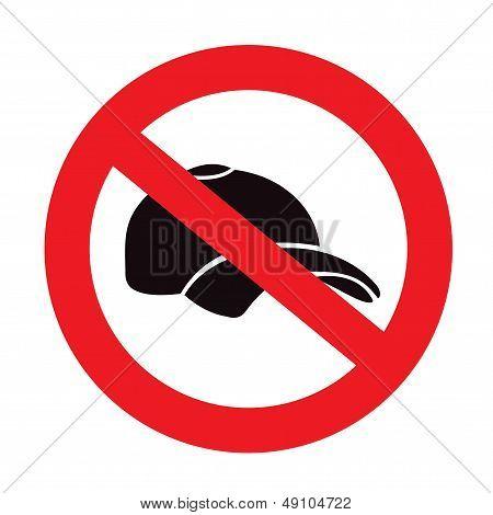 No Cap Sign