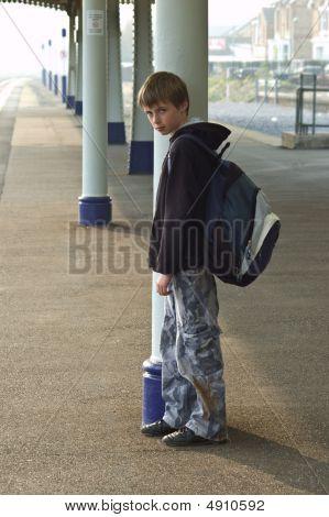 Boy Waiting