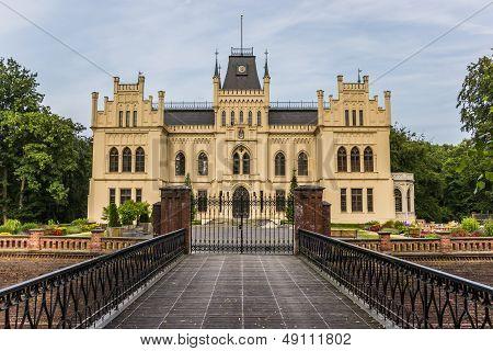 Front Of The Evenburg In Leer, German