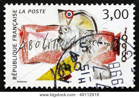 Postage Stamp France 1998 Abolition Of Slavery