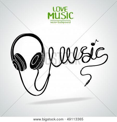 Music silhouette