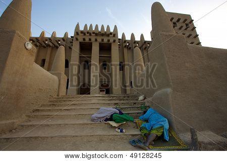 Djenne Mosque In Mali