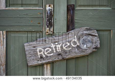 Retired.