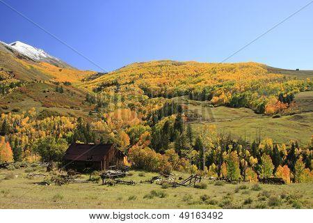 Old Barn Near Telluride, Colorado