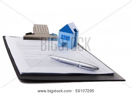 Real estate contract document