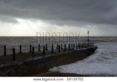 Sussex coast.