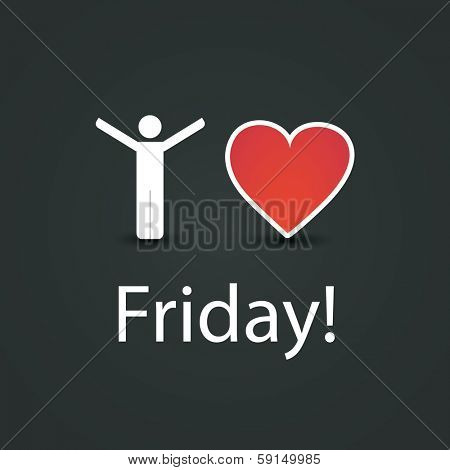 I Love Friday! - Design Concept