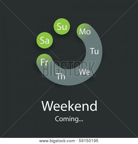Weekend is Coming - Smile Concept Design