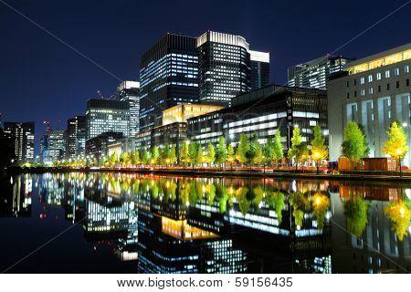 Tokyo commercial area