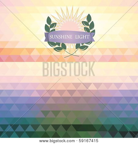 Abstract Geometric Background Of The Triangle