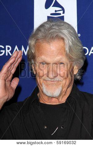 LOS ANGELES - JAN 23:  Kris Kristofferson at the