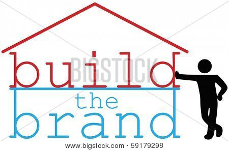 Advertising promotion consultant helping business build a house brand identity
