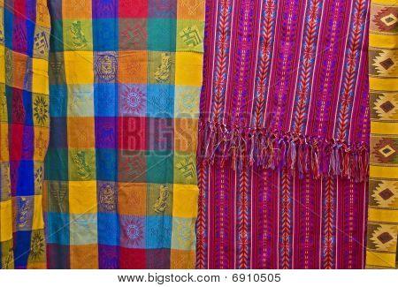 Spread Mayan Blankets