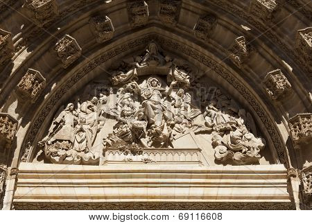 Cathedral Of Seville Tympanum