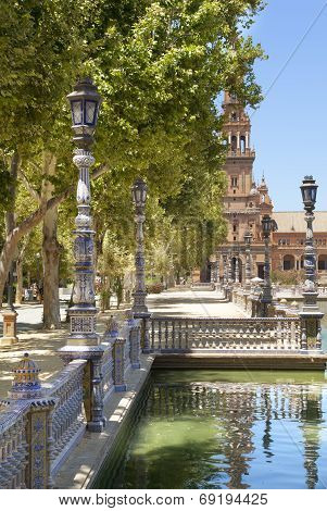 Spain Square Lampposts