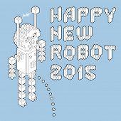 happy new robot 2015 poster