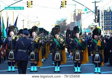 NYPD bagpipe band