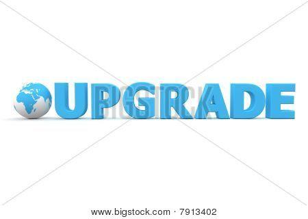 World Upgrade Blue
