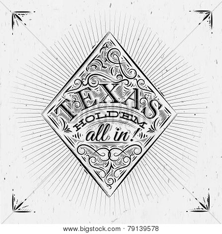 Diamonds texas holdem