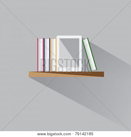 E-book On A Shelf