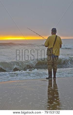 Patient Sea Fisherman