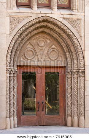 A Beautiful Church Doorway