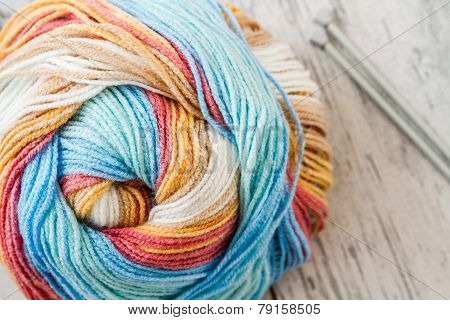 Colorful Woolen Yarn