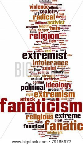 Fanaticism Word Cloud
