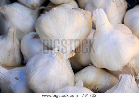Cloves of Organic Garlic