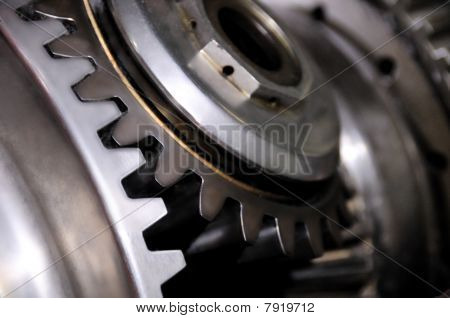 Part Of An Engine, Industrial Background