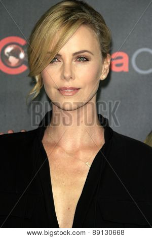 LAS VEGAS - APR 21:  Charlize Theron at the Warner Brothers 2015 Presentation at Cinemacon at the Caesars Palace on April 21, 2015 in Las Vegas, CA