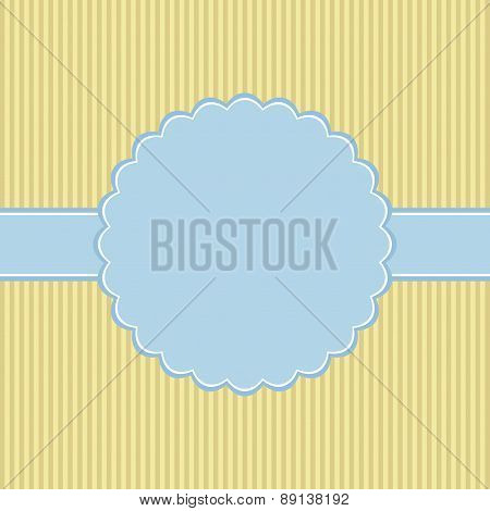 Template Of Greeting Card.