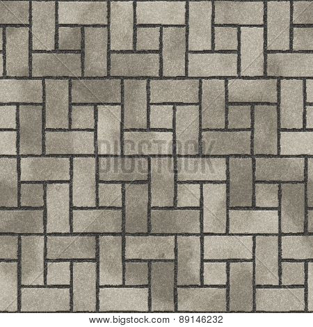 Pavement Seamless Generated Texture