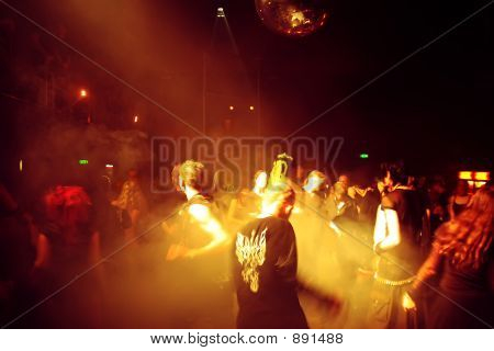 People Dancing In A Disco
