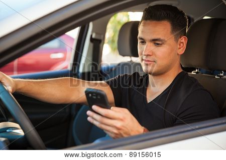 Reckless Driver Texting