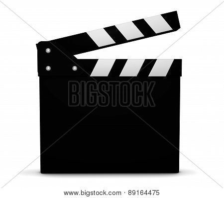Cinema Film And Movie Blank Clapperboard