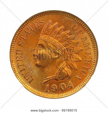 1904 indian head coin