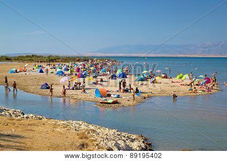 Nin Sandbar Beach Summer View