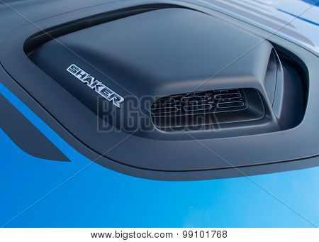 2015 Dodge Challenger Hemi Shaker Hood Scoop, Woodward Dream Cruise, MI