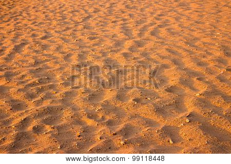 Desert sand texture from the sand in Egypt