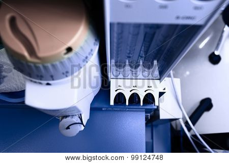 Gas Equipment In Icu