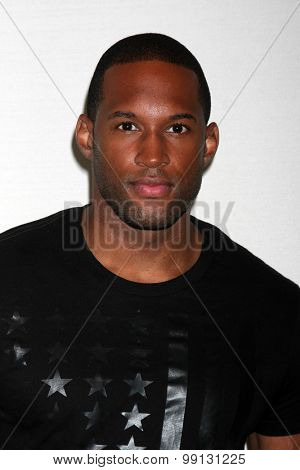 LOS ANGELES - AUG 16:  Lawrence Saint-Victor at the Bold and Beautiful Fan Event Sunday at the Universal Sheraton Hotel on August 16, 2015 in Universal City, CA