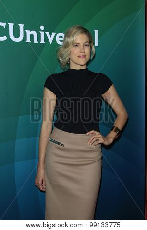 LOS ANGELES - AUG 13:  Charity Wakefield at the NBCUniversal 2015 TCA Summer Press Tour at the Beverly Hilton Hotel on August 13, 2015 in Beverly Hills, CA