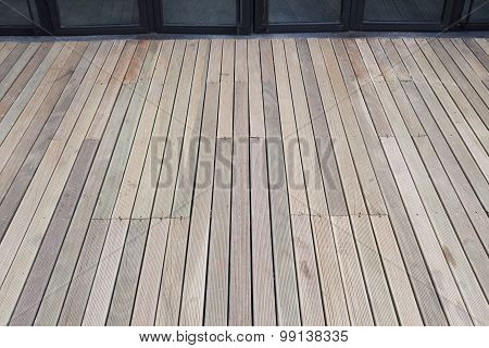 Artificial Wood Plank Floor Background