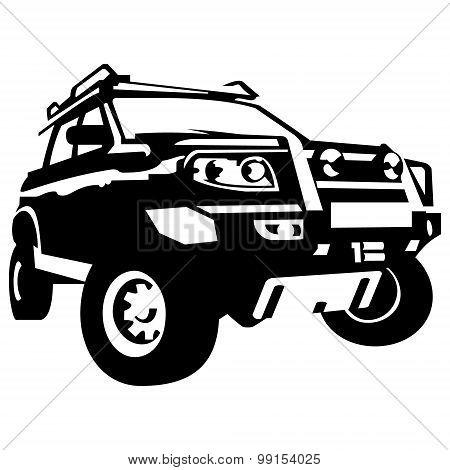 Offroad car suv 4x4