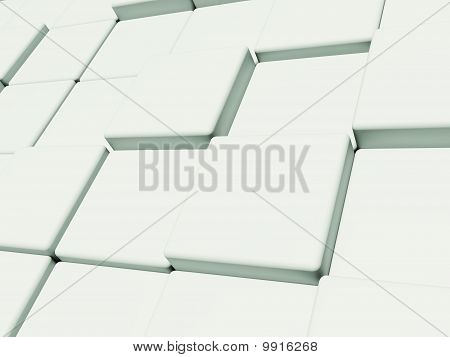 Abstract cubic structure