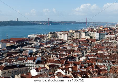 Lisbon Cityview. Portugal